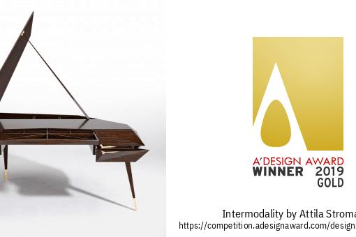 A'Design Award 2019 – Intermodality table