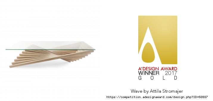 A'Design Award 2017 – Wave
